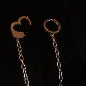 Marc Jacobs Handcuff Keychain